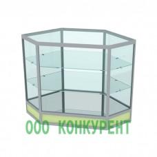 Угл. витрина. ПР-80-80-3