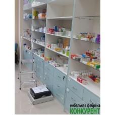 Торговое оборудование для аптеки на Заречной д.25
