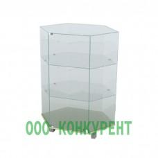 Стеклянная витрина ВСН 60-60