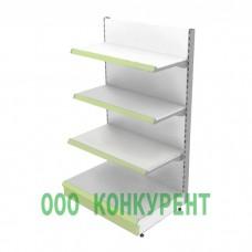 Металлический стеллаж пристенный без фриза 4