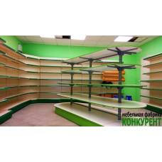 Торговое оборудование для магазина натуральных продуктов