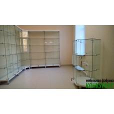 Стеклянные витрины для центра реабилитации