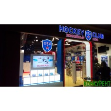 Витрина для фирменного магазина СКА
