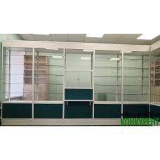 Аптечные витрины и стеллажи
