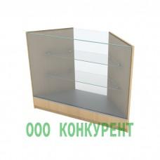 Угловая витрина НЕ-80-80-УГЛ3