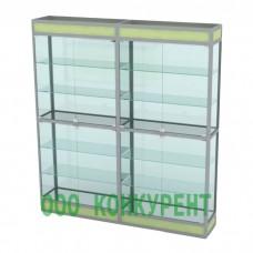Стеллаж ПР-1800-35-Стекло