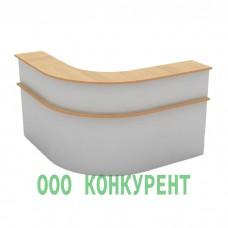 Стойка ресепшн 3-секционная