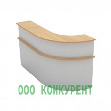 Стойка ресепшн 2-секционная