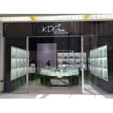 Торговое оборудование для ювелирного магазина KDGem