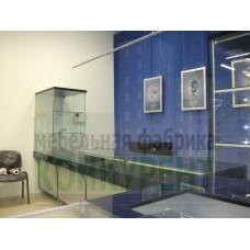 Торговое оборудование для магазина «Северный ювелир» СПб., ул. Коллонтай д.10