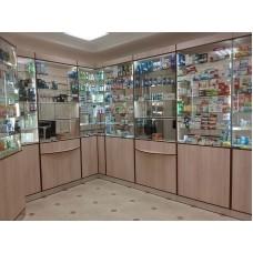 Торговое оборудование для аптеки. СПб., ул. Некрасова д.17