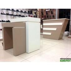 Торговое оборудование для обувного магазина, СПб, ул. Одоевского дом 27, литер А