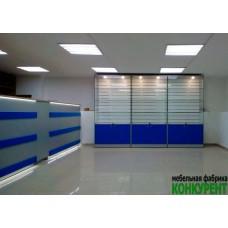 Торгово-выставочное оборудование для интернет-магазина мобильной электроники Advanced Technology.